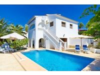 Alex-4. Beautiful and comfortable villa in Benissa, on the Costa Blanca, Spain