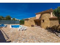 Castellet 8. Large and comfortable villa with private pool in Benissa, on the Costa Blanca, Spain