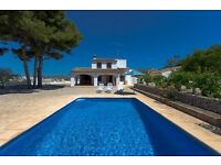 Pascual-6.Villa with private pool in Benissa, on the Costa Blanca, Spain