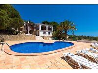 Fortuna-6. Villa with private pool, in Benissa, Costa Blanca, Spain