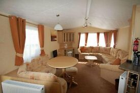 STATIC CARAVANS FOR SALE ON THE NORTH EAST COAST 3 BEDROOM***NO FEES TO PAY UNTIL 2018***