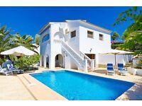 Alex-4. Beautiful and comfortable villa in Benissa, on the Costa Blanca, Spain