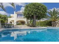 Altamira 4. Wonderful and nice villa with private pool in Benissa, on the Costa Blanca, Spain