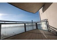 AVAILABLE 11TH SEPTEMBER DIRECT RIVER VIEWS 3 BEDROOM APARTMENT WITH CONCIERGE AND GYMNASIUM.