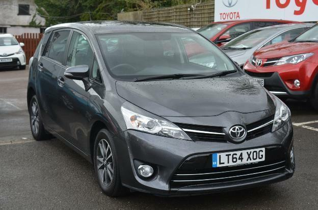 2014 Toyota Verso Valvematic Icon Petrol Grey Cvt In Letchworth