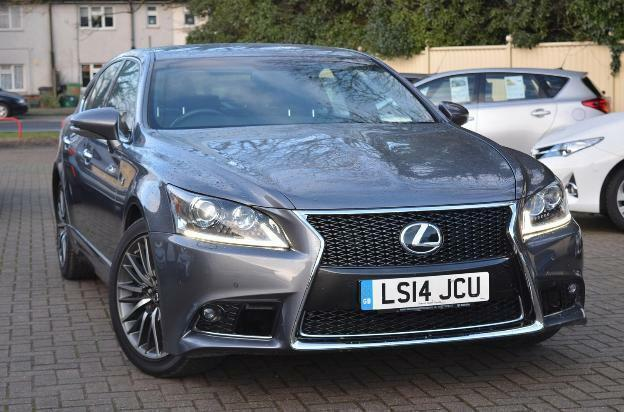 2014 lexus ls 460 f sport petrol grey automatic in st albans hertfordshire gumtree. Black Bedroom Furniture Sets. Home Design Ideas