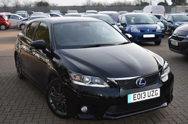 2013 lexus ct 200h f sport petrol electric black cvt in st albans hertfordshire gumtree. Black Bedroom Furniture Sets. Home Design Ideas