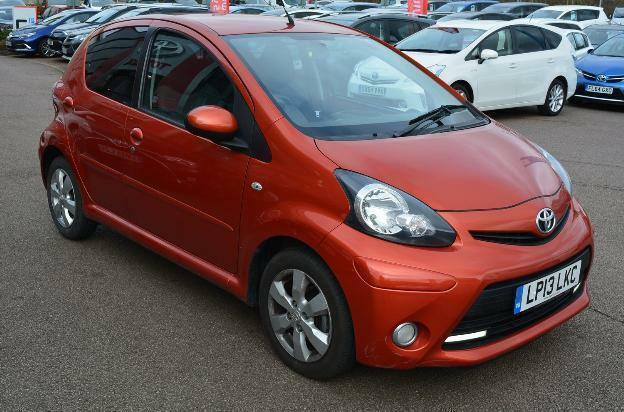 2013 Toyota Aygo Vvt I Fire Ac Petrol Orange Manual In Milton