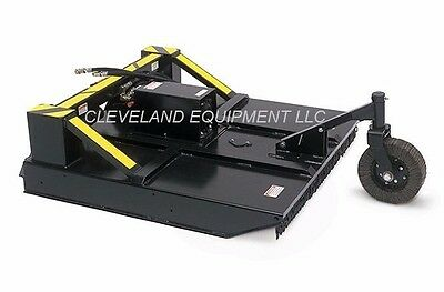 60 Ammbusher Brush Cutter Attachment Skid Steer Loader Mower Bobcat Kubota 5