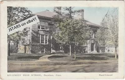 C  1920 Danielson  Ct  Killingly High School Postcard