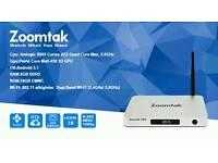 NEW ZOOMTAK T8H ANDROID TV BOX 16GB KODI 16.1