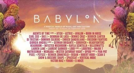 Babylon Ticket - 1 Ticket