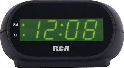 RCA Digital Alarm Clock with Night Light, New, Free Shipping