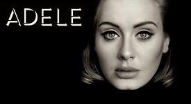 Adele tickets x4 on 2nd July 2017, London - Wembley