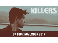The Killers - 2 x Standing Tickets Birmingham Genting Arena Tuesday 7th Nov 2017