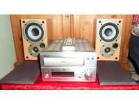 DENON UD-M50 CD PLAYER WITH MISSION SPEAKERS