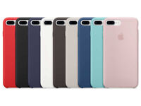 Silicone Case For Apple iPhone 7 & iPhone 8 (9 Colours Available)