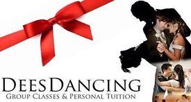 Deesdancing ballroom and Latin dancing.