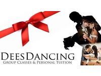 Deesdancing ballroom and Latin dancing.