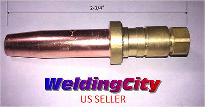 Weldingcity Propane Cutting Tip Mc40-4 Size 4 Smith Torch Us Seller Fast Ship