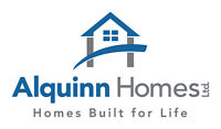 Looking to build your own home? Alquinn Homes can get you there!
