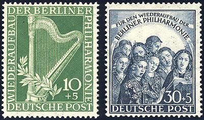 BERLIN 1950, MiNr. 72-73, postfrisch, Mi. 140,-