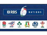 Six Nation tickets | England vs Ireland | Premium Seats