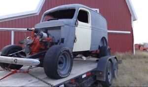 Full truck or parts 1939 Chevy panel truck