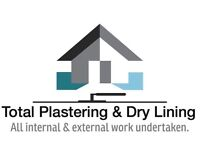 Total plastering & dry lining; looking for labour'ers to start with us. Mixing and cleaning.