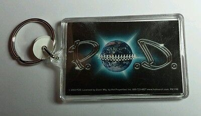 AS-IS P.O.D. PAYABLE ON DEATH EARTH PEOPLE TRIBAL LETTERS KEY CHAIN KEYCHAIN