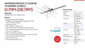 TV Antenna - Matchmaster 01MM-DB19 Mont Albert North Whitehorse Area Preview