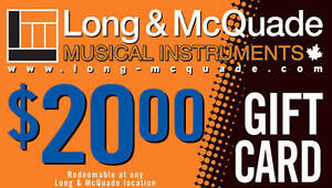 Long & Mcquade Gift Cards for Cash