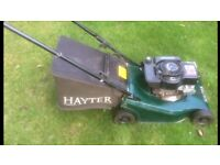 Hayter - Quality used petrol Rotary lawn Mover