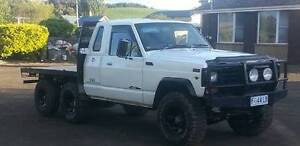 Nissan Patrol Extra Cab V8 Flat tray 6x4 Lazy Axle Exton Meander Valley Preview