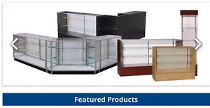 SALE DISPLAY CASES AND RETAIL ACCESSORIES