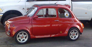 Very Clean 1966 Fiat 500 Abarth 750cc, 5 spd, wide body