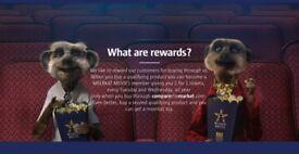 Meerkat Movies 2 for 1 Cinema Voucher