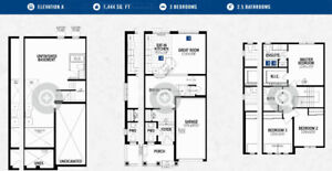 3 Bedroom + 2.5 Bath NEW Townhome in Kitchener