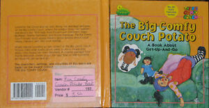 Big Comfy Couch Potato Hard Cover Book London Ontario image 1