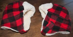 2 Red Plaid Hats. $ 7.50 each