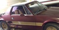1978 Fiat X19 Bertone with removable hard top