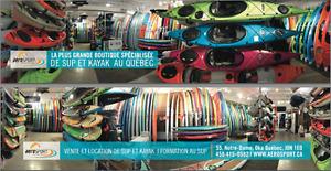 Kayaks 299$ et + Pelican,Pelican Premium et Elie