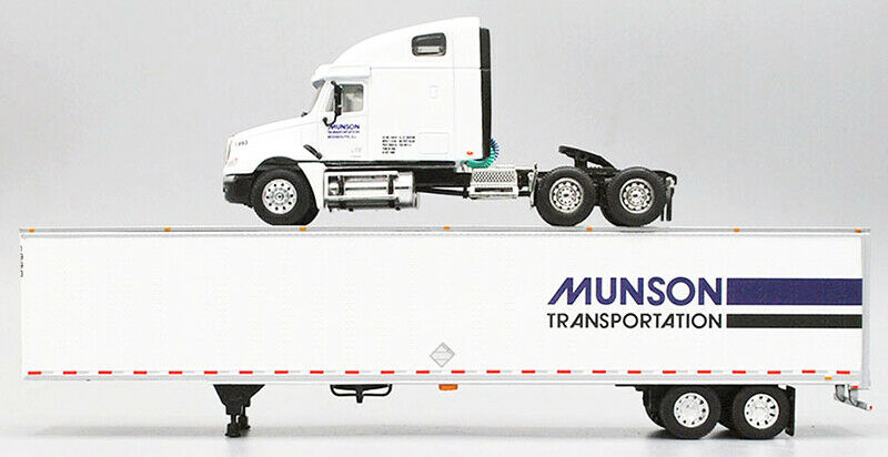 1/64 DCP Munson Transportation - Freightliner Columbia High Roof Sleeper with 53 1