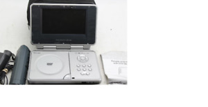 Venturer 7in portable DVD player, charger,cable in v good cond