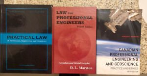 Engineering, Law & Ethics Text books