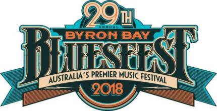Bluesfest 29/3 1x adult camping and 1x child camping tickets