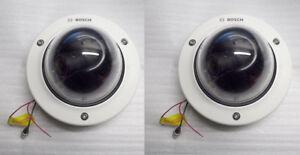 2 x BOSCH FLEXIDOME CCTV CAMERAS (PROFESSIONAL GRADE)