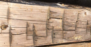 BARN BEAMS - HAND HEWN & ROUGH SAWN - RECLAIMED & RUSTIC