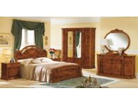 Beautiful Italian full bedroom furniture set used