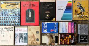 Art Books and Classic Novels, $5 each or $50 for all